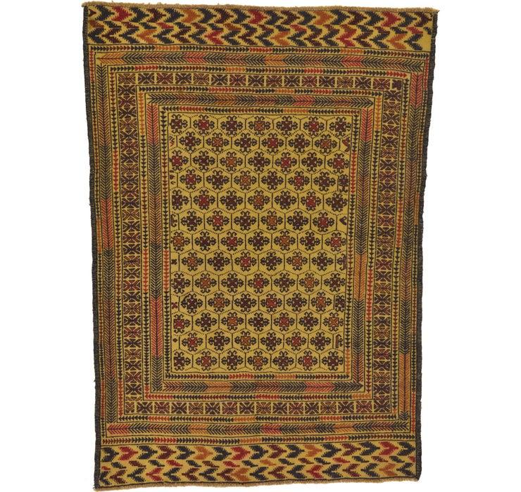 140cm x 190cm Kilim Afghan Rug