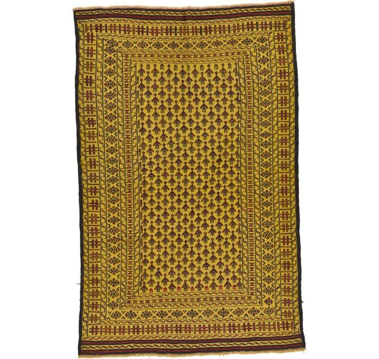 122cm x 188cm Kilim Afghan Rug