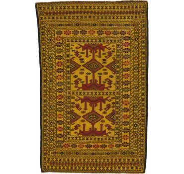 Image of  4' x 6' 2 Kilim Afghan Rug
