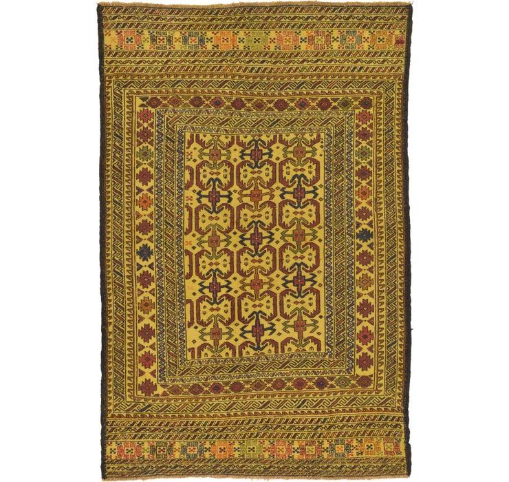 132cm x 200cm Kilim Afghan Rug