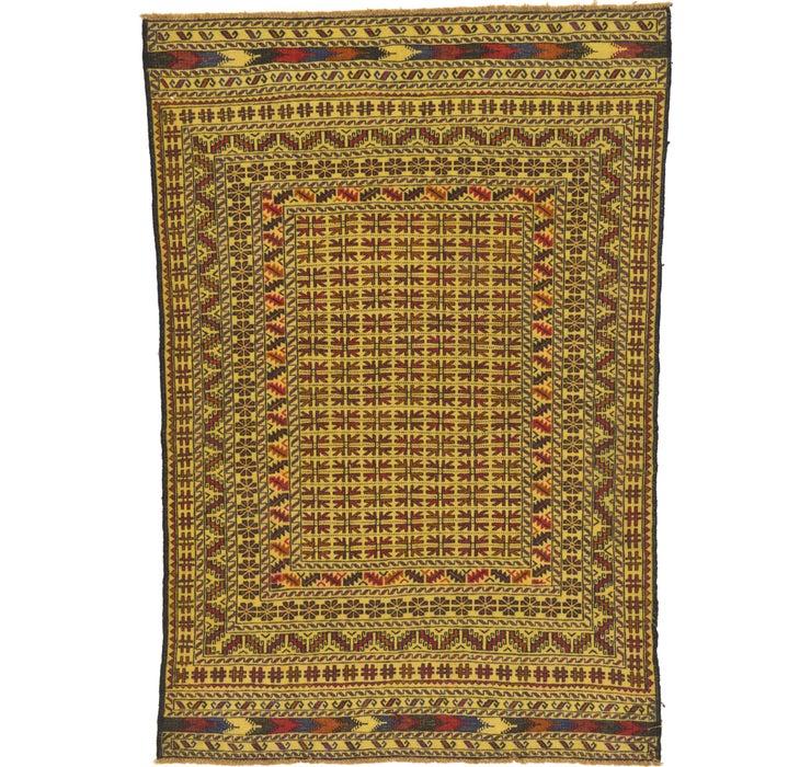 130cm x 188cm Kilim Afghan Rug