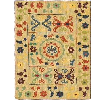5' x 6' 6 Kilim Suzani Rug main image