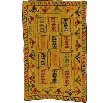 Image of 6' x 9' 7 Kilim Suzani Rug