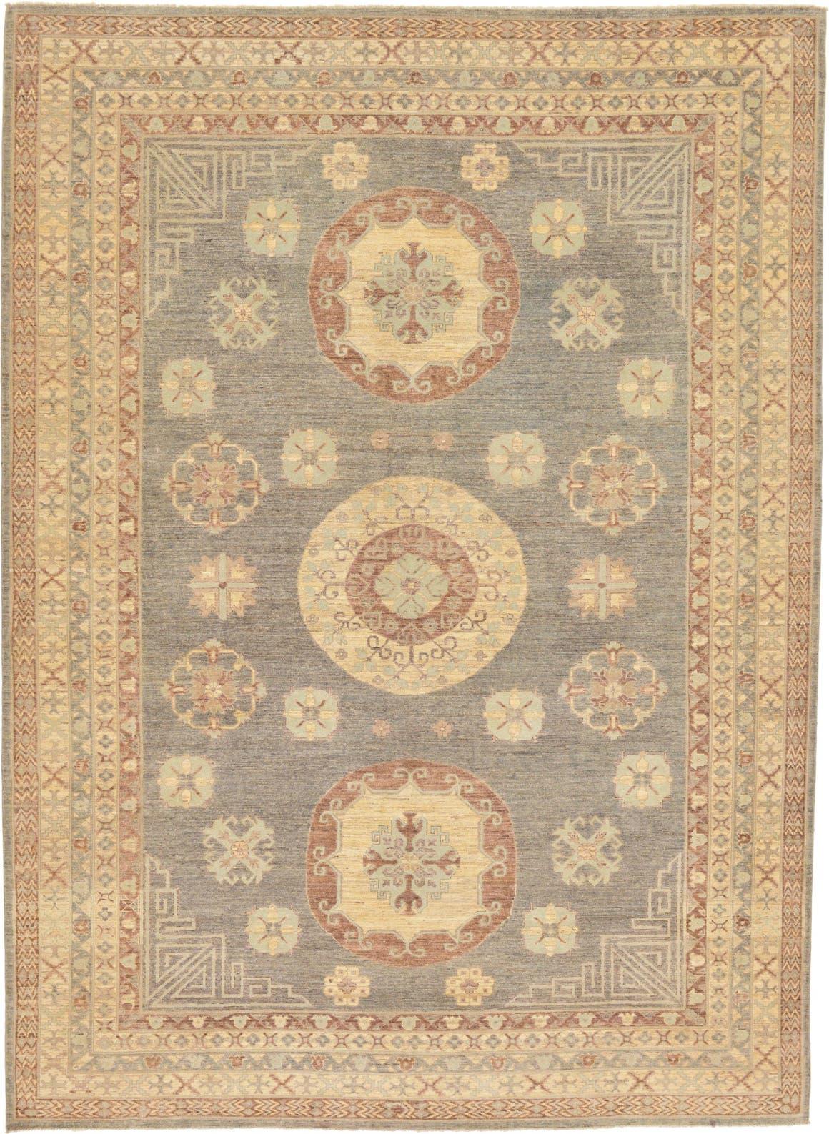 10' x 13' 9 Khotan Ziegler Oriental Rug main image