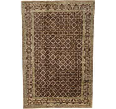 Image of 6' 4 x 9' 7 Khotan Ziegler Oriental...