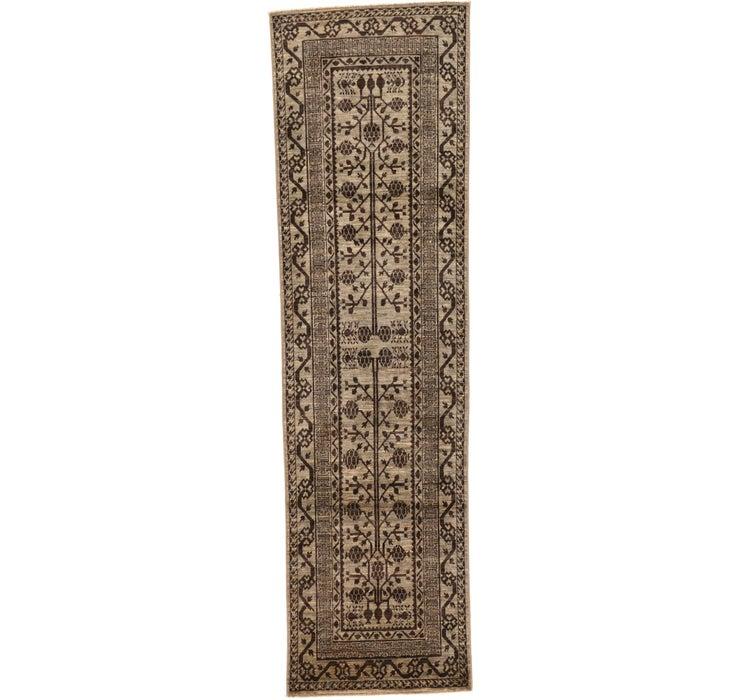 85cm x 297cm Khotan Ziegler Oriental...