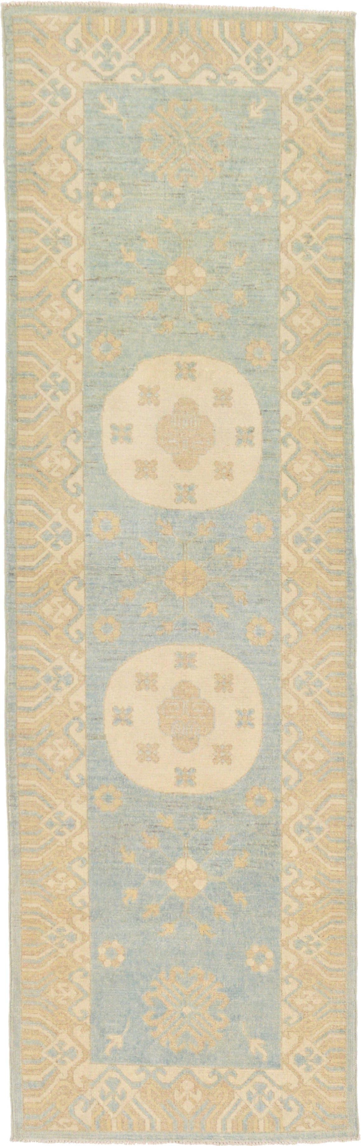 3' x 9' 8 Khotan Ziegler Oriental Runner Rug main image
