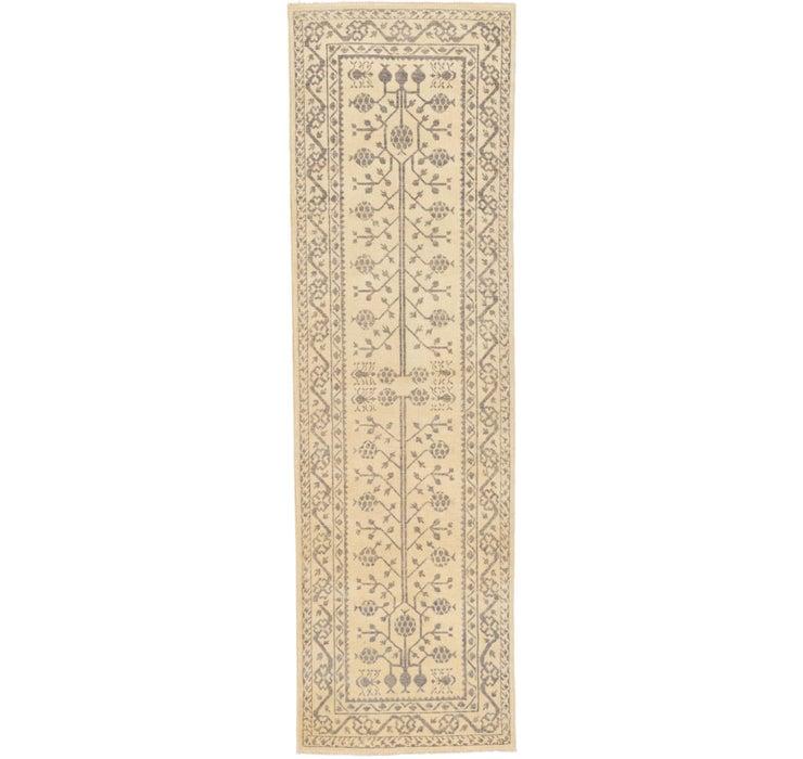 3' x 9' 10 Khotan Ziegler Oriental...