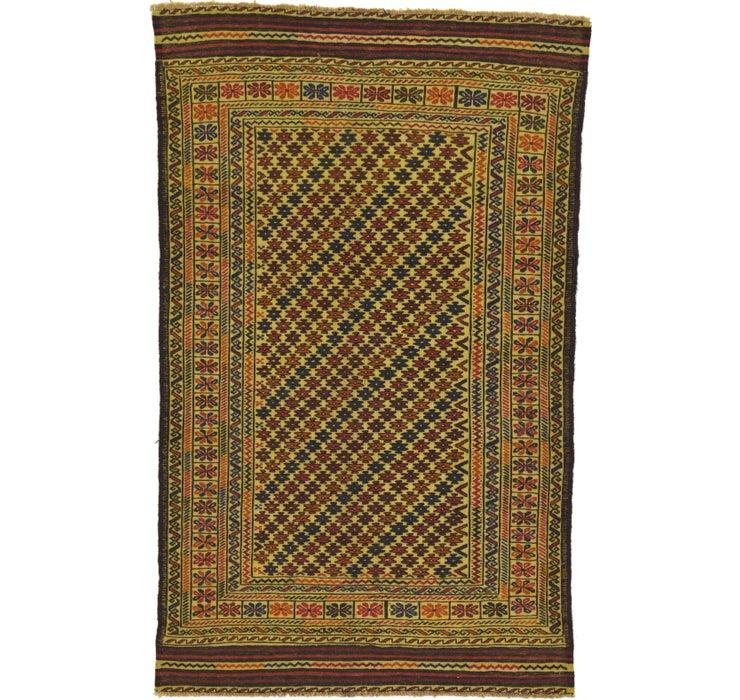 122cm x 195cm Kilim Afghan Rug
