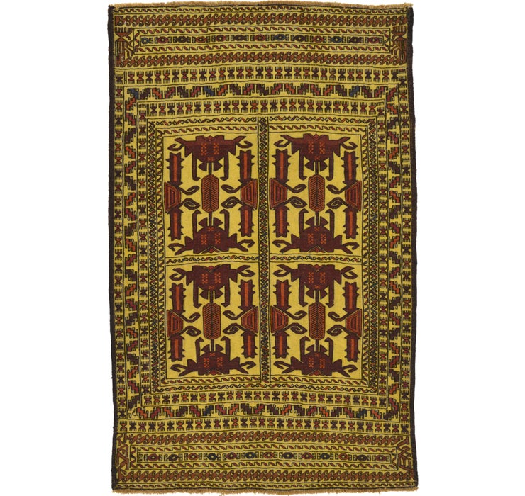 117cm x 183cm Kilim Afghan Rug