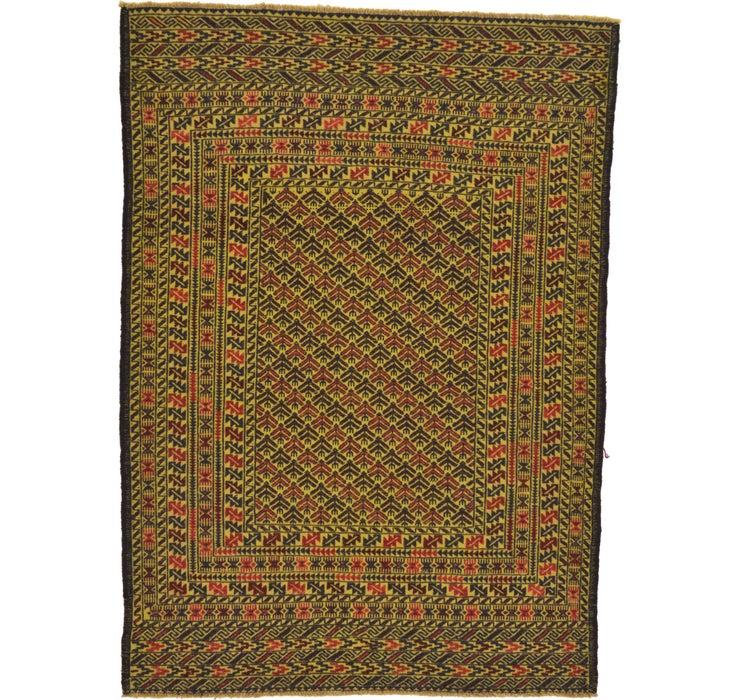 127cm x 183cm Kilim Afghan Rug