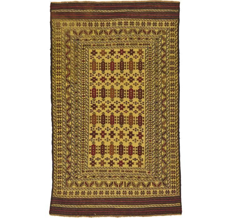 122cm x 205cm Kilim Afghan Rug