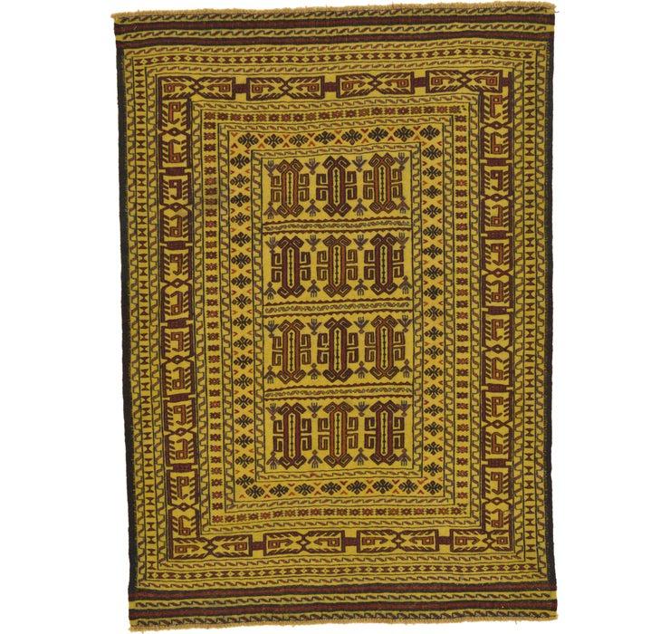 127cm x 188cm Kilim Afghan Rug