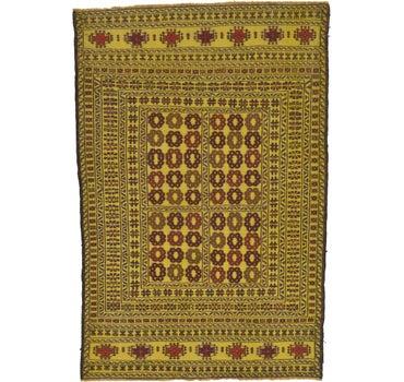4' 2 x 6' 3 Kilim Afghan Rug main image