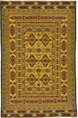 4' x 6' 3 Kilim Afghan Rug thumbnail