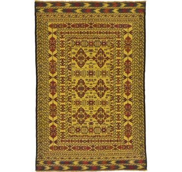 4' x 6' 3 Kilim Afghan Rug main image