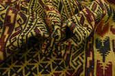 4' 4 x 6' 8 Kilim Afghan Rug thumbnail