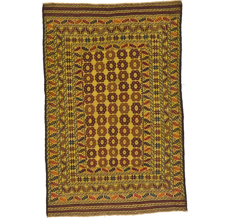 127cm x 190cm Kilim Afghan Rug