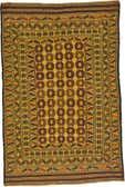 4' 2 x 6' 3 Kilim Afghan Rug thumbnail
