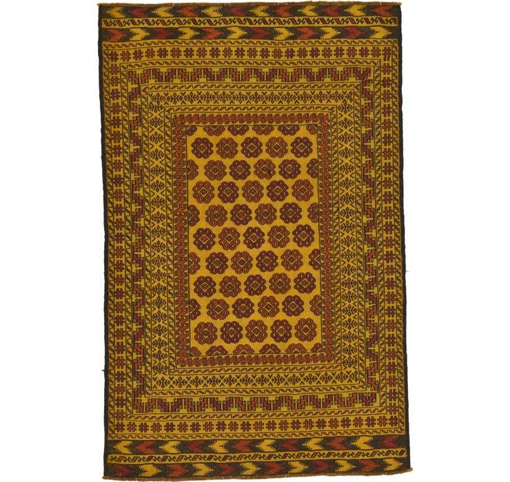 127cm x 198cm Kilim Afghan Rug