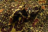 4' 4 x 6' 3 Kilim Afghan Rug thumbnail