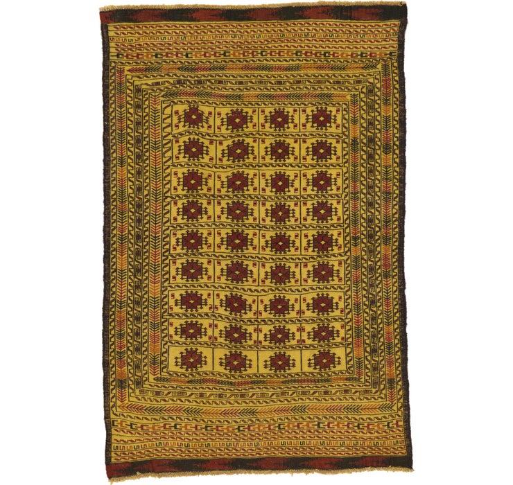 130cm x 195cm Kilim Afghan Rug