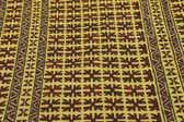 4' 2 x 6' 6 Kilim Afghan Rug thumbnail