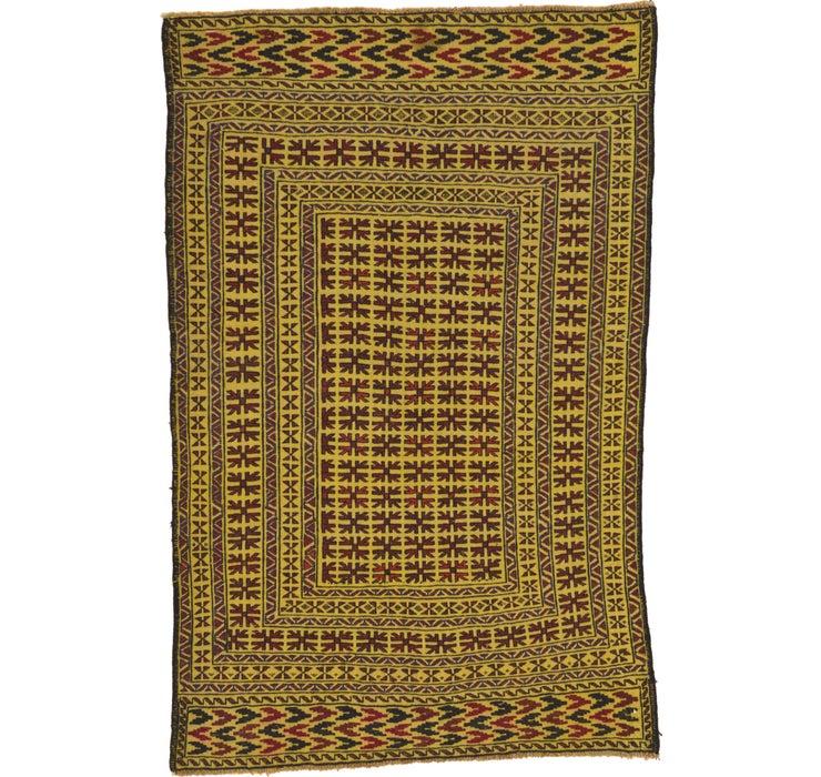 Image of 127cm x 198cm Kilim Afghan Rug
