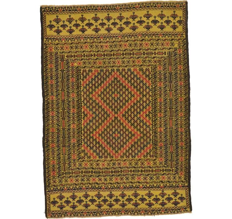 130cm x 183cm Kilim Afghan Rug
