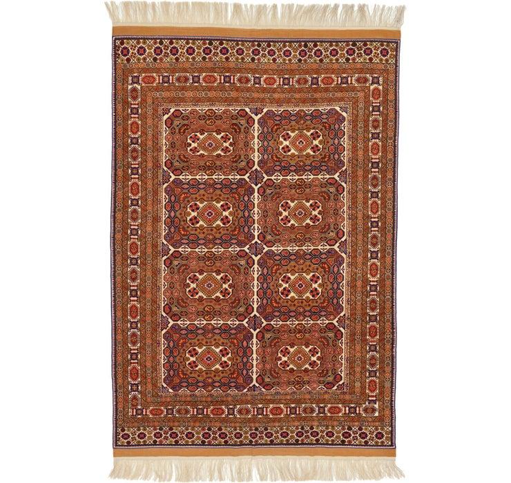 205cm x 315cm Afghan Mouri Oriental Rug