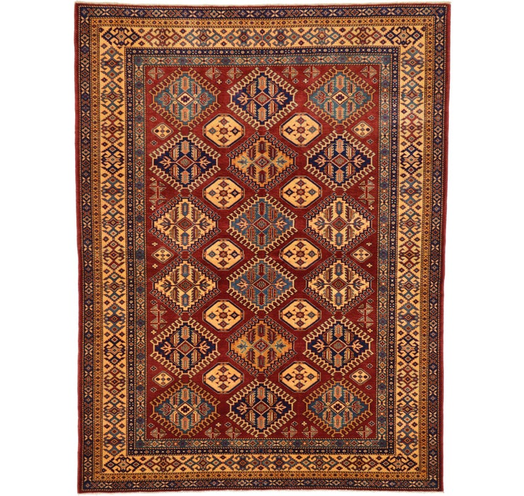 6' x 7' 9 Kazak Oriental Rug