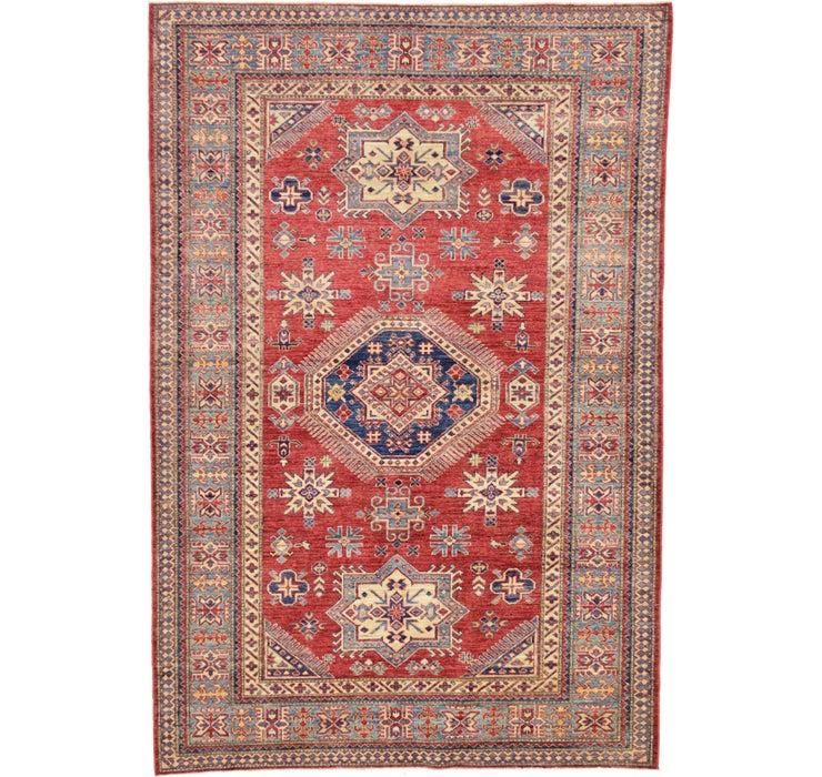5' 7 x 8' 3 Kazak Oriental Rug