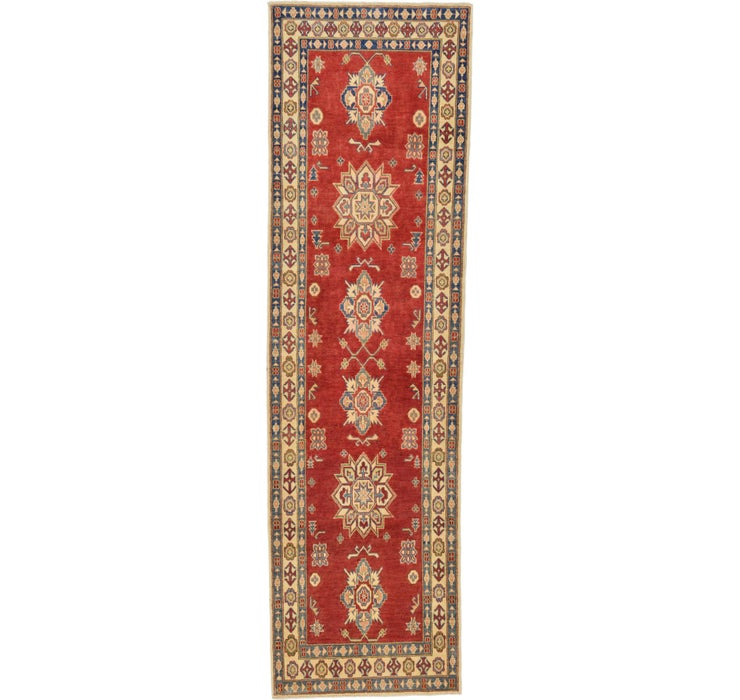 2' 10 x 9' 10 Kazak Oriental Runner Rug