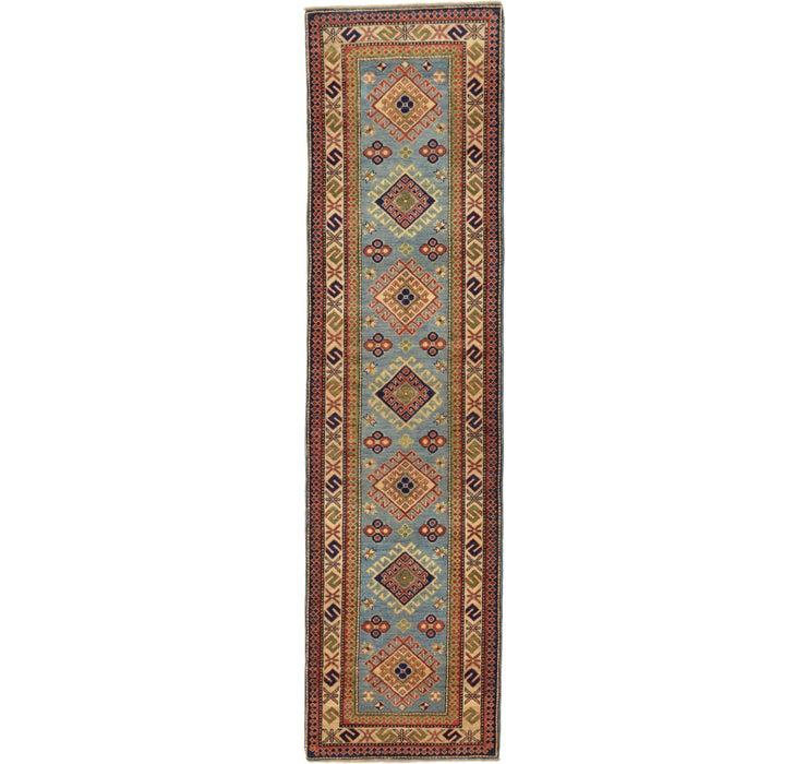 80cm x 310cm Kazak Oriental Runner Rug