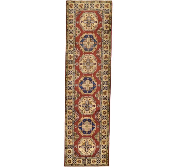 2' 8 x 9' 9 Kazak Oriental Runner Rug