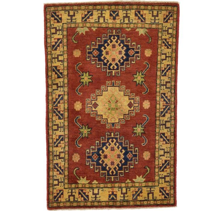 80cm x 127cm Kazak Oriental Rug