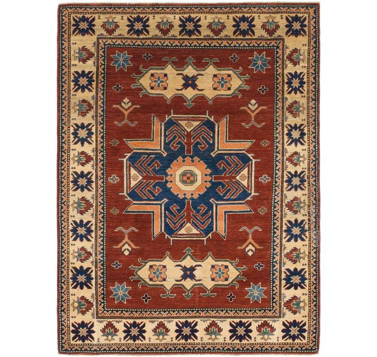 152cm x 205cm Kazak Oriental Rug