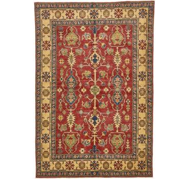 6' x 8' 10 Kazak Oriental Rug main image