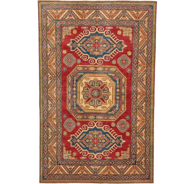 6' 4 x 9' 8 Kazak Oriental Rug