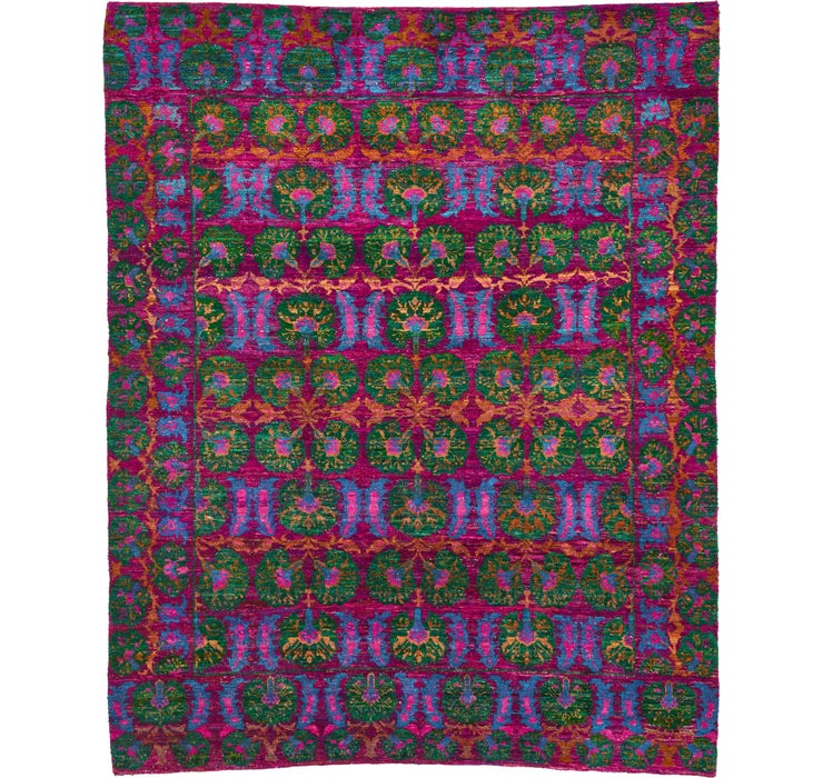 Image of 7' 10 x 9' 9 Sari Rug