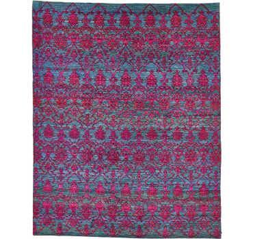 Image of 7' 7 x 9' 5 Sari Rug