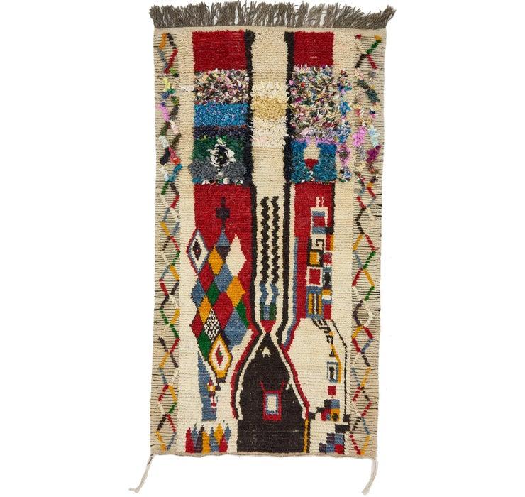 3' 7 x 6' 8 Moroccan Rug
