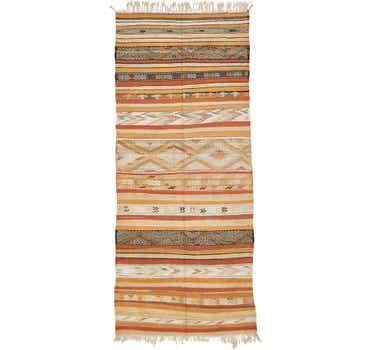 Image of 5' 4 x 12' 5 Moroccan Runner Rug