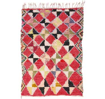 Image of 5' x 7' Moroccan Rug