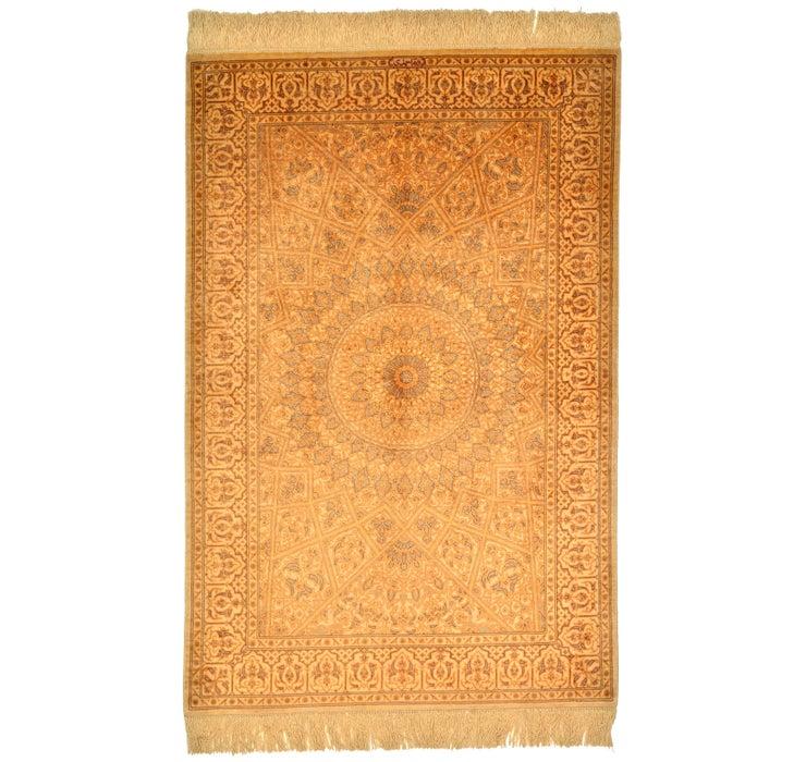 80cm x 122cm Qom Persian Rug
