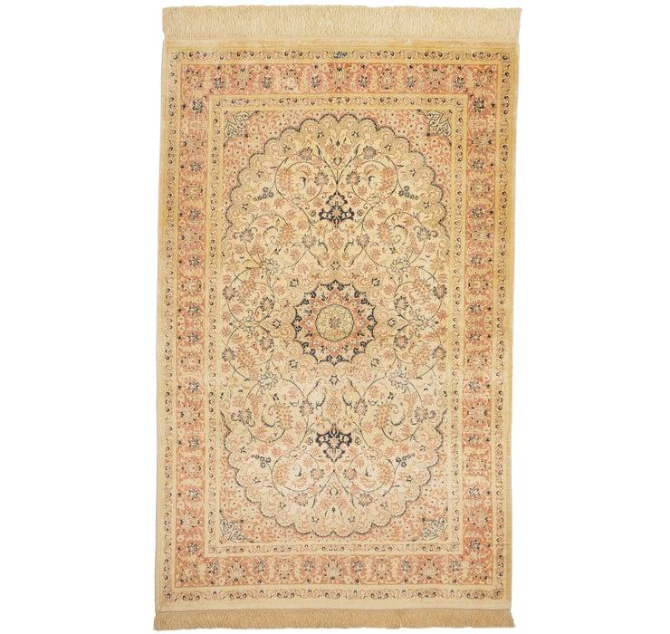 102cm x 150cm Qom Persian Rug