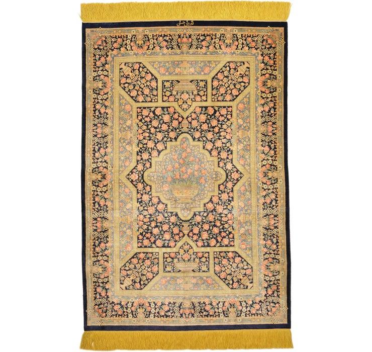 80cm x 120cm Qom Persian Rug