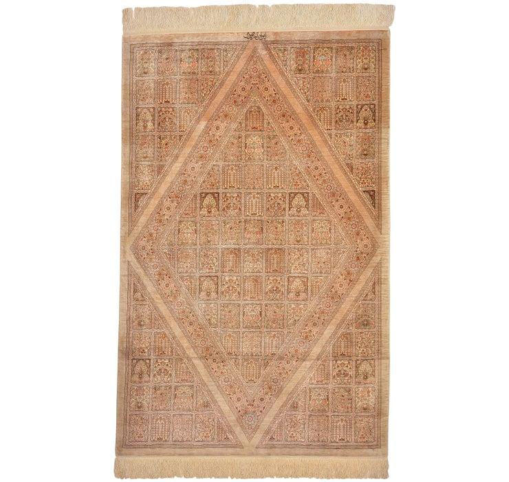100cm x 157cm Qom Persian Rug