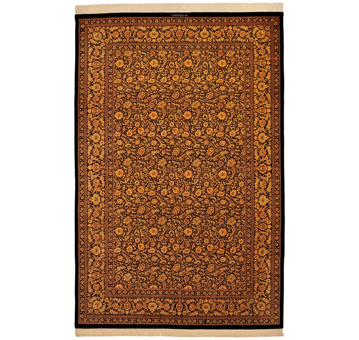 200cm x 295cm Qom Persian Rug