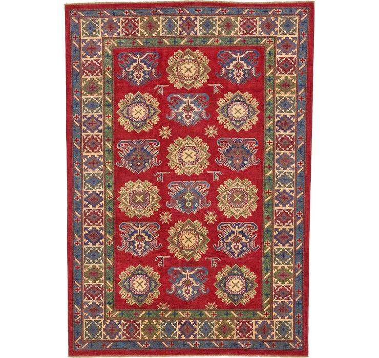 6' 8 x 9' 6 Kazak Oriental Rug